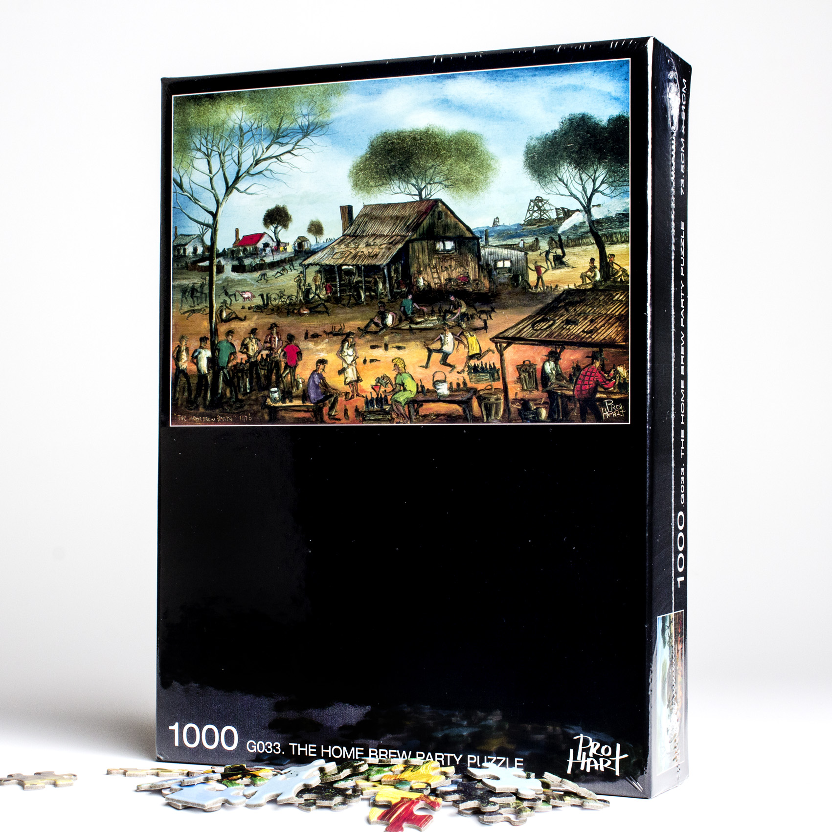 Home Brew Party Jigsaw Puzzle